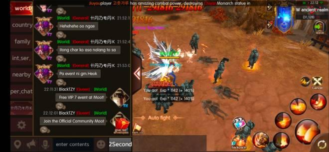 ATK CHALLENGER: Chat Certification - Server 306 G99 IGN: BlackTZY image 1