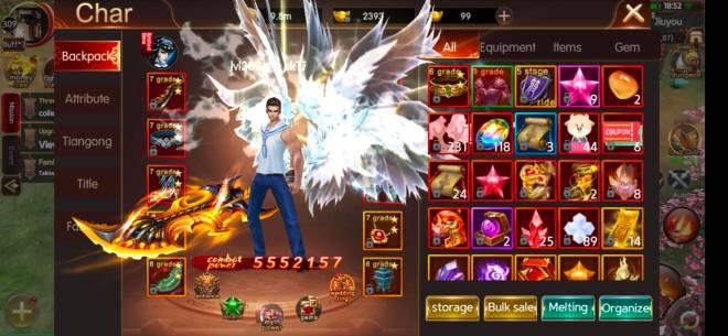 ATK CHALLENGER: Fire Dance Certification - Server 306 G99 IGN : BlackTZY image 1