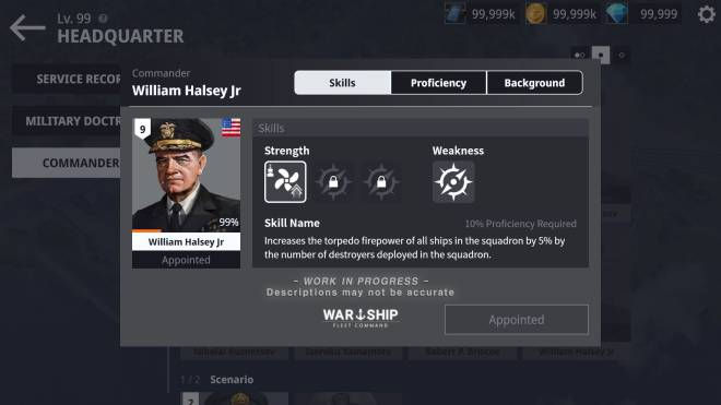 Warship Fleet Command: Notice - Pre-update Notices on WFC 2.0 / EP.1 image 3