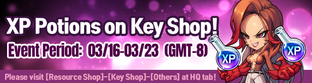 Noblesse:Zero: Events - XP Potions on Key Shop! image 3