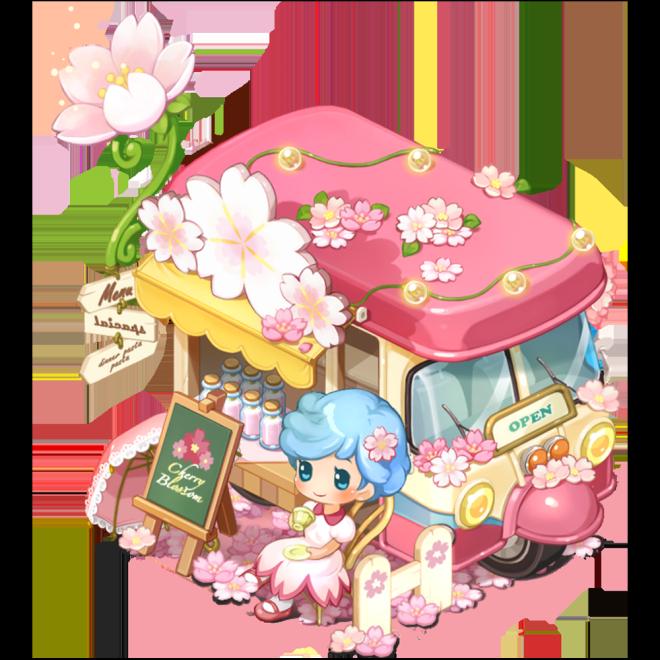 My Secret Bistro: ● Event - [Cherry Blossom Cafe Truck] Lucky Box Event image 3