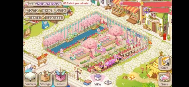 萌萌餐廳: [結束] 櫻花主題最佳餐廳裝飾 - ID:吐司加蛋 image 2