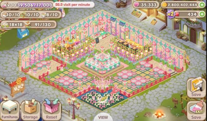 My Secret Bistro: [Closed] Best Cherry Blossom Interior Content - IGN: Jaba•Yume image 3
