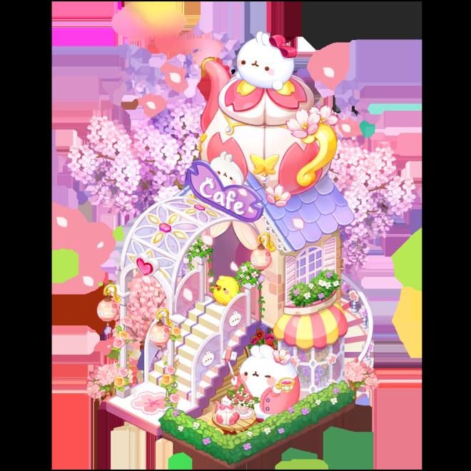 My Secret Bistro: ● Event - [Molang Cherry Blossom Cafe] Lucky Box Event image 3