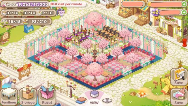 My Secret Bistro: [Closed] Best Cherry Blossom Interior Content - IGN : XALEN image 1