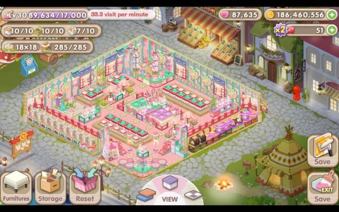 My Secret Bistro: [Closed] Best Cherry Blossom Interior Content - IGN: Talsa image 1