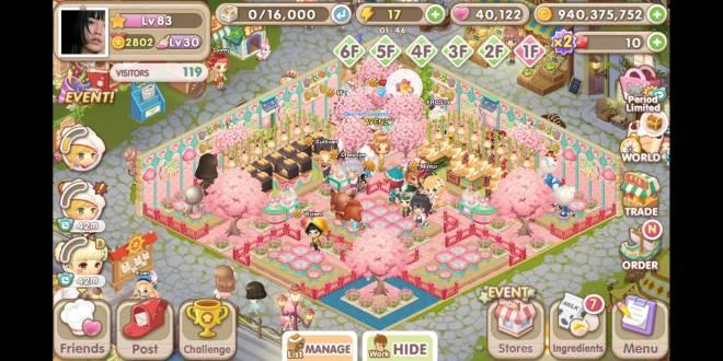My Secret Bistro: [Closed] Best Cherry Blossom Interior Content - IGN: RAVENLY image 3