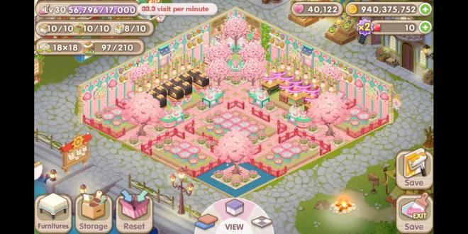 My Secret Bistro: [Closed] Best Cherry Blossom Interior Content - IGN: RAVENLY image 1