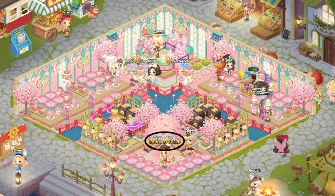 My Secret Bistro: [Closed] Best Cherry Blossom Interior Content - Ign: Jara0225 image 1