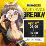 [DONE] Apr. 08 Maintenance Notice