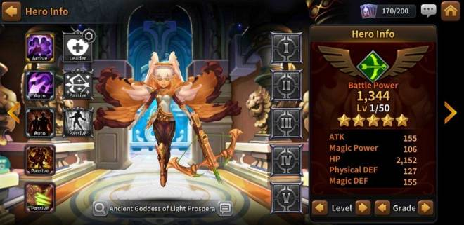 Along with the Gods: Knights of the Dawn: Tips and Guides - Hero Spotlight: Prospera  image 4