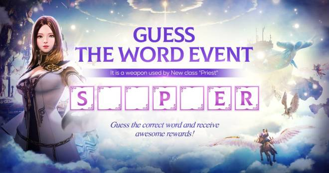 Icarus M: Riders of Icarus: Event - Guess the Word Event image 1