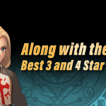 Along with the Gods: Best 3 and 4 Star Heroes