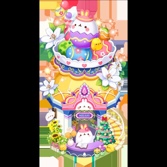 My Secret Bistro: ● Event - [Molang's Egg Craft Shop] Lucky Box Event image 3