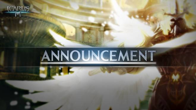 Icarus M: Riders of Icarus: Notice - New version available on Google Play Store image 1
