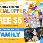 [EVENT] Family Month Special Offer at SHIFTUP Store