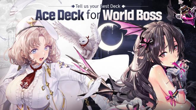 DESTINY CHILD: PAST NEWS - [EVENT] Ace Deck for World Boss image 1