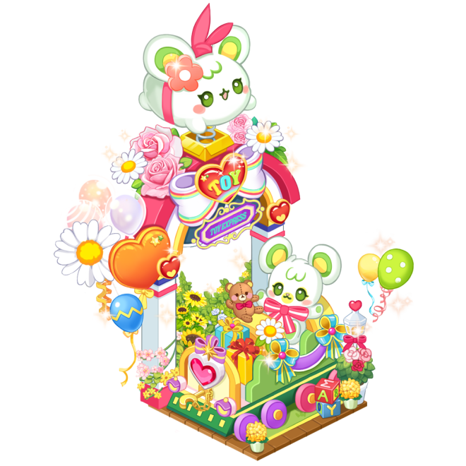 My Secret Bistro: ● Event - [Hamzzi's Toy Train] Lucky Box Accumulated Usage Event image 3