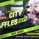 [EVENT] Raffles' Quiz Event