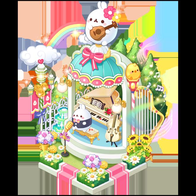My Secret Bistro: ● Event - [Molang's Garden Concert] Lucky Box Event image 3