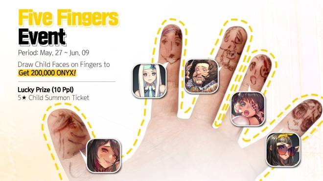 DESTINY CHILD: PAST NEWS - [EVENT] ✋ ✋ ✋  Five Fingers Event ✋ ✋ ✋  image 1