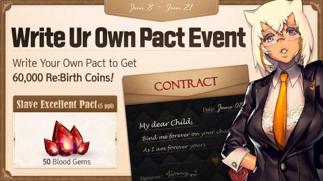 DESTINY CHILD: PAST NEWS - [EVENT] Write Ur Own Pact image 1
