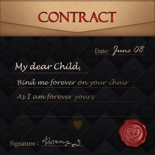 DESTINY CHILD: PAST NEWS - [EVENT] Write Ur Own Pact image 3