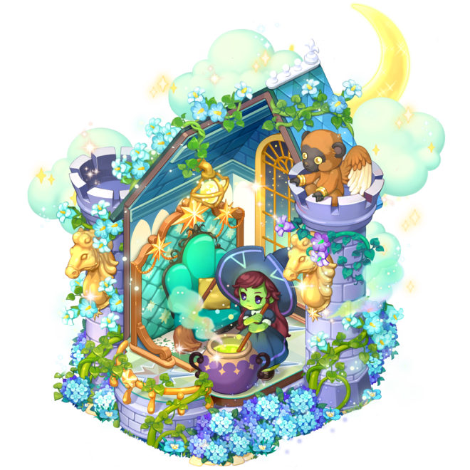 My Secret Bistro: ● Event - VIP [West Witch's Moonlight Workshop] Mysterious Lucky Box Accumulated Usage Event image 3