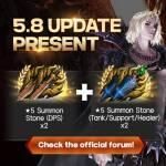 [Event] 5.8 Update Present!