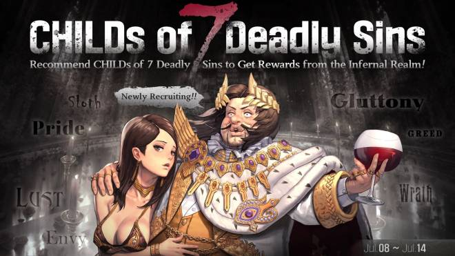 DESTINY CHILD: PAST NEWS - [EVENT] Childs of 7 Deadly Sins image 1