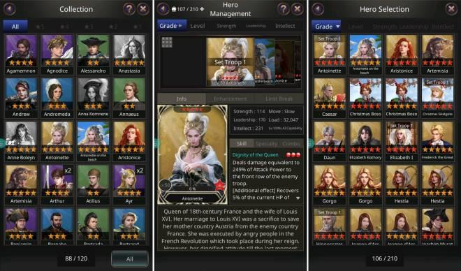 VERSUS : REALM WAR: Game Guide - ▣ Heroes image 1