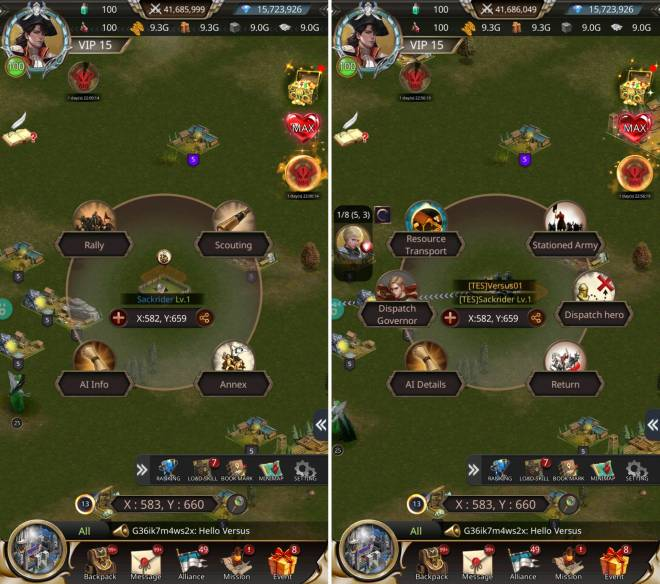 VERSUS : REALM WAR: Game Guide - ▣ AI System image 2