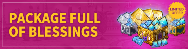 Lucid Adventure: ◆ Event - Recommended by Dark! Package full of blessings event~!  image 1