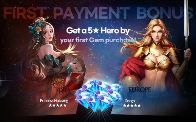VERSUS : REALM WAR: Announcement - First Payment Event!! (Season 2) image 1