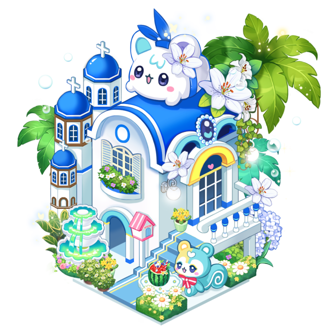 My Secret Bistro: ● Event - [Santorini Summer House] Lucky Box Accumulated Usage Event image 3