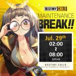 [DONE] Jul. 29 Maintenance Notice