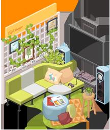 どきどき♥レストラン: ●イベント - アップグレード生産デコ25%割引イベント image 6