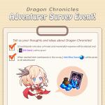 🎉Event. Dragon Chronicles, Adventurer Survey!