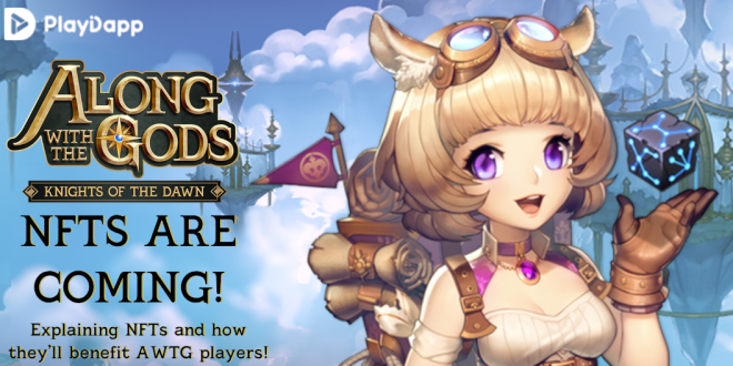 Along with the Gods: Knights of the Dawn: Notice - NFTs are coming to Along with theGods! image 2