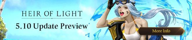 HEIR OF LIGHT: Update Preview & Patch Notes - [Notice] 5.10 Update Preview image 1