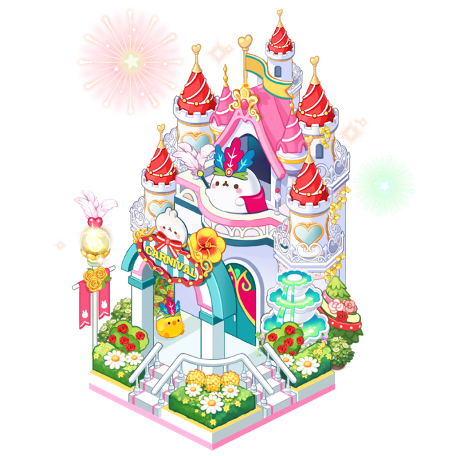 My Secret Bistro: ● Event - 4 Kinds of Molang Income Decor Packages Notice image 7