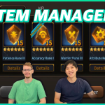 Using the new NFT Item Manager in Along with the Gods