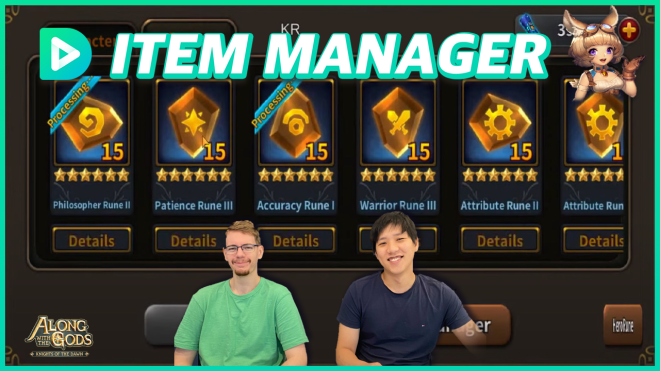 Along with the Gods: Knights of the Dawn: Video Content - Using the new NFT Item Manager in Along with the Gods image 1