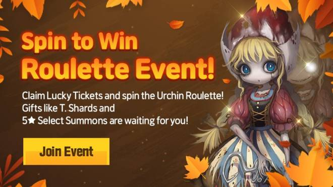 HEIR OF LIGHT: Event - [Event] Roulette Event image 1