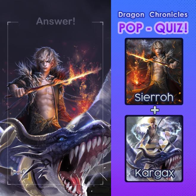 Dragon Chronicles: Event - ☆Answer. Dragon Chronicles Pop Quiz!!! image 1
