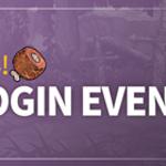 Get lots of APs!🍖 Autumn Login Event