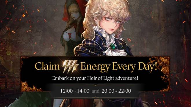 HEIR OF LIGHT: Event - [Event] Daily Hot Time Event image 3