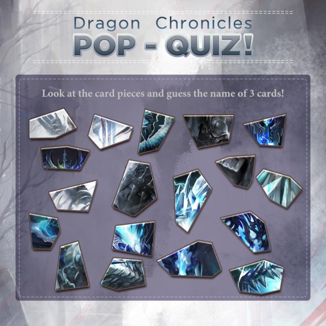 Dragon Chronicles: Event - 🎉Event. Dragon Chronicles Pop Quiz!!! image 1