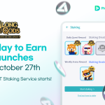 Along with the Gods Play-to-Earn will launch October 27th