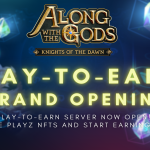 Along with the Gods Play to Earn Server Launch